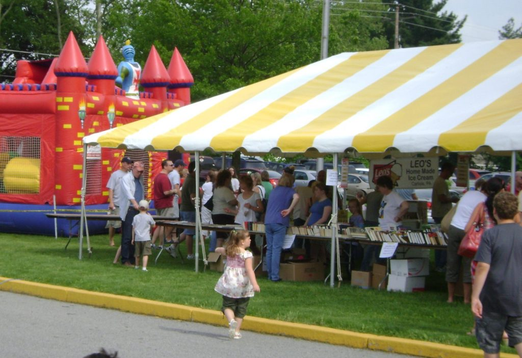 Tent at Fair