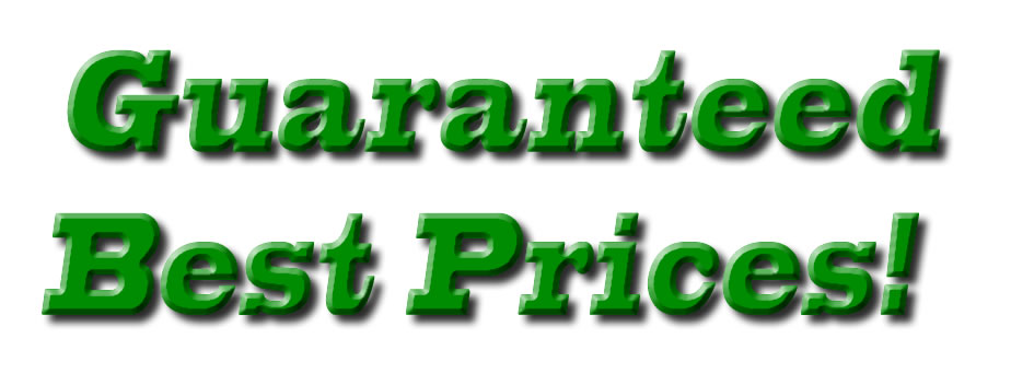 Guaranteed Best Prices!