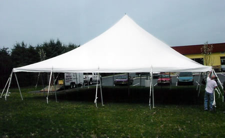 Single Center Pole Tent